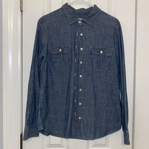 Lightweight JCrew Denim Button Down